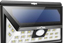 Outdoor Motion Sensor Solar Lights