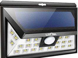 Outdoor Motion Sensor Solar Lights