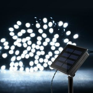 Product Description For Litom Solar Outdoor 200 LED String Lights