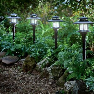 Product Description of Green Lighting Melbourne LED Solar Path Lights
