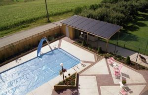 Solar pool heaters Above Ground