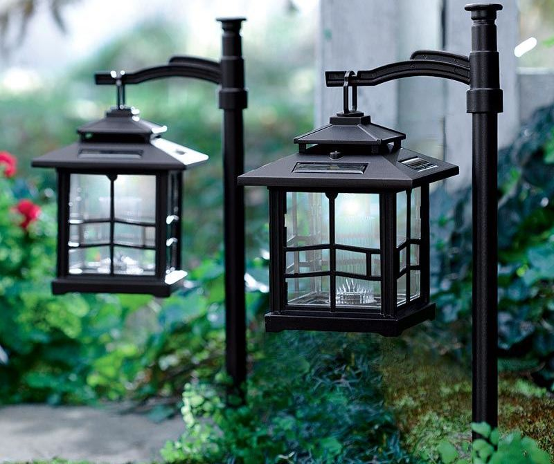 solar power porch light