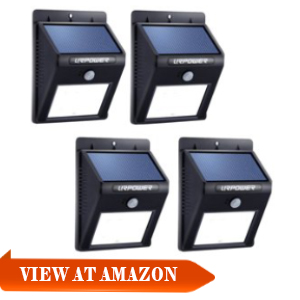 Best solar motion security light these solar security motion lights are similar with the litom solar lights they are weatherproof inexpensive because they derive their energy from the sun workwithnaturefo
