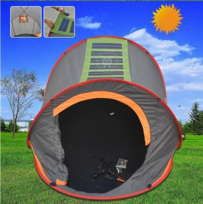 Do you love spending time with your family outdoors be it in the park at the beach or in the woods? Itu0027s a great outlet to bond and enjoy each otheru0027s ... & 5 Top-Rated Solar-Powered Tents For Camping Enthusiasts