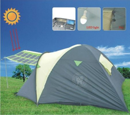 Considered the Earthu0027s most advanced pop-up tent the High Quality Solar Power Tent promises to revolutionize the way you go c&ing. & 5 Top-Rated Solar-Powered Tents For Camping Enthusiasts