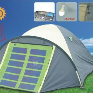 Solar Power Tents