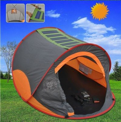 Check Price at Site & 5 Top-Rated Solar-Powered Tents For Camping Enthusiasts